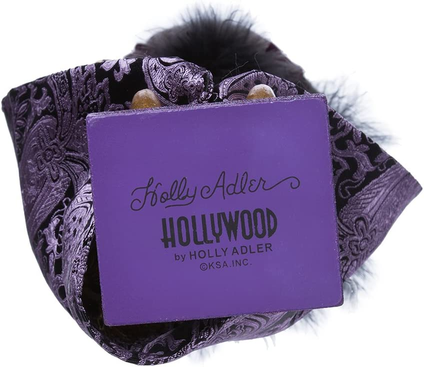 Purple Hollywood Nutcrackers Kurt Adler Hollywood King Nutcracker 18-Inch