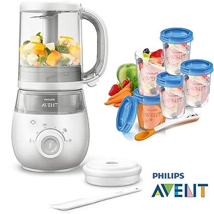 Philips Avent Easypappa SCF 875/02 - Juego de cocción al vapor 4 en ...