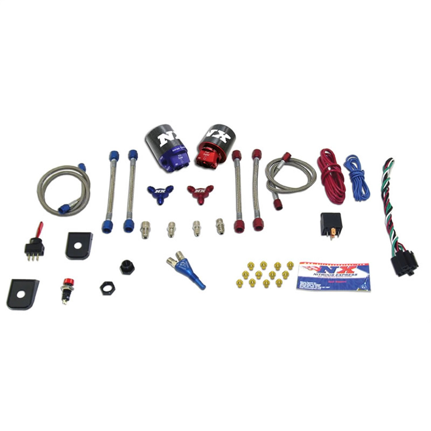 Nitrous Express NXEFI-DS Single Nozzle Stage 1 System to Dual Stage Convert