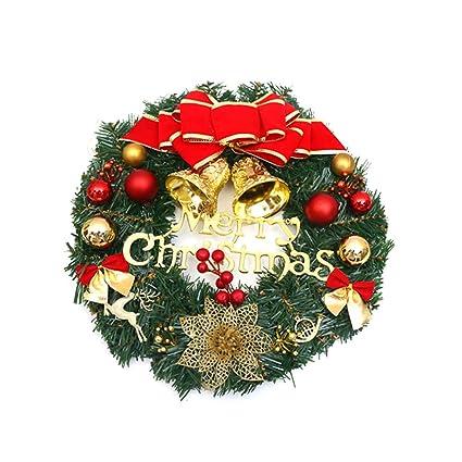 Everyfit  Christmas Wreath Door Hanging, Wreath Hanger Over The Door,  Christmas Wreath Front