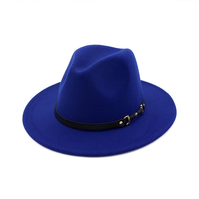 Autumn Winter Fedoras Mens Jazz Cap Vintage Derby Bowler Hat Women Felt Hat