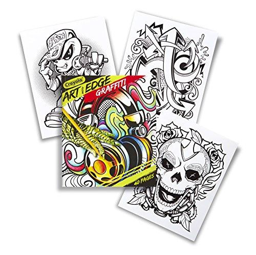 Crayola Edge Graffiti Adult Coloring