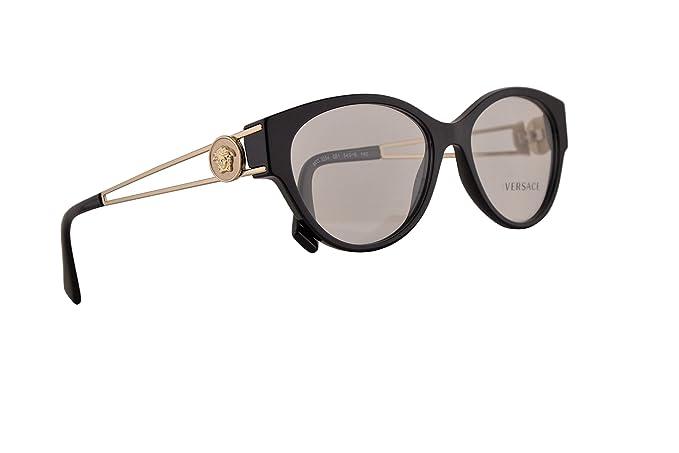 Versace VE3254 Gafas 54-16-140 Negro Con Lentes De Muestra ...