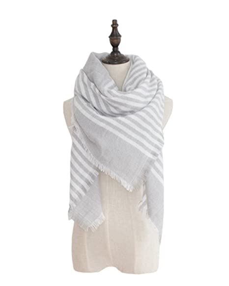 7503ffbe0 Spring fever Infinity Tartan Checked Thick Cashmere Feel Autumn Winter Scarf  A17