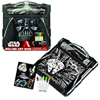 Star Wars Darth Vader Rolling Art Desk Play Set
