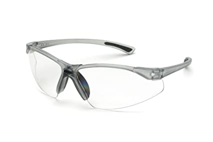 1f52c31fc644 Image Unavailable. Image not available for. Color  Bifocal Safety Glasses  in Polycarbonate clear Lens ...
