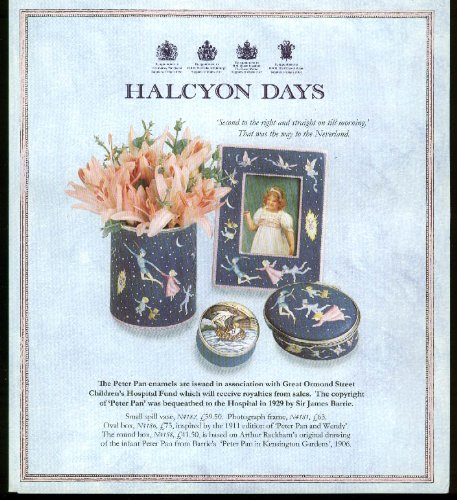 Halcyon Days Enamelware sales folder 1994