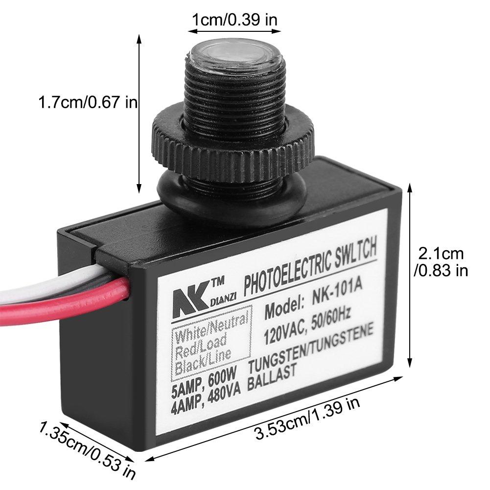 Ac 120v Dusk To Dawn Sensor Photoelectric Switch Light Photocell Buy Switchlight Lighting Zerodis