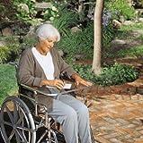 Clear Wheelchair Work Tray