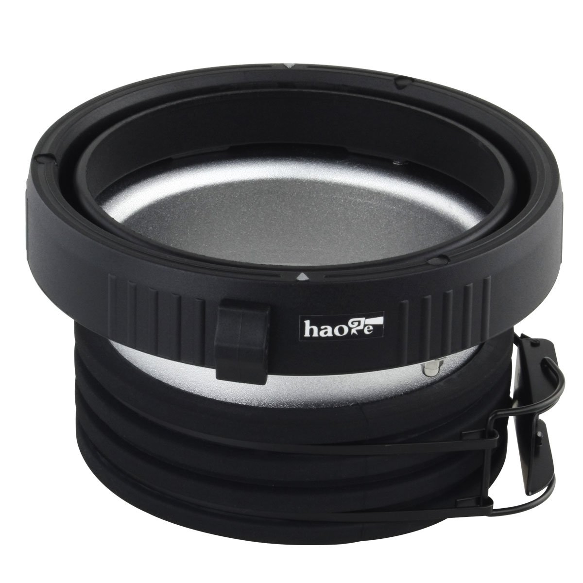Haoge Profoto to Elinchrom Mount Speedring Ring Adapter Converter for Studio Light Strobe Flash Monolight
