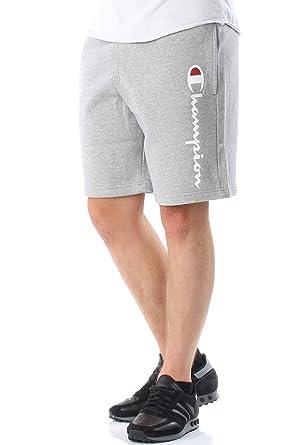 1762b354aa779a Champion Shorts Herren 212096 F18 EM006 OXGM Grau: Amazon.de: Bekleidung