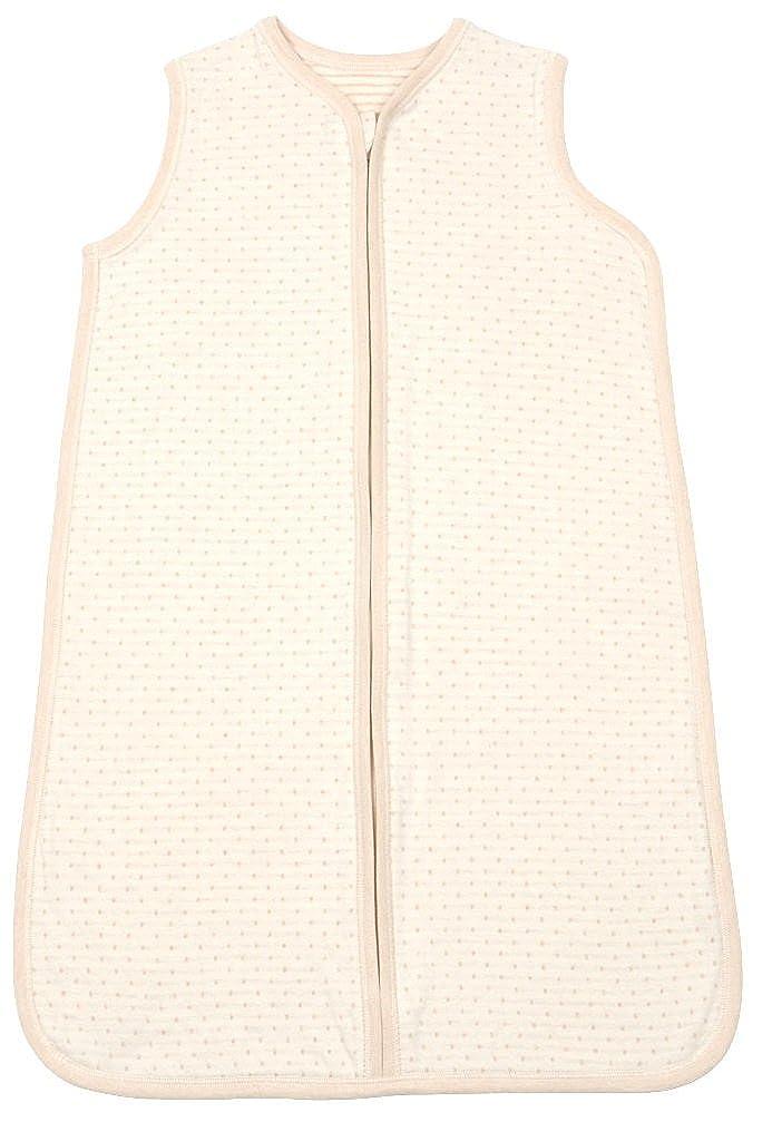 Organic Cotton Unisex Baby Napsack Sleepwear, 100% Natural Dye-Free, Dots BMS013-$P