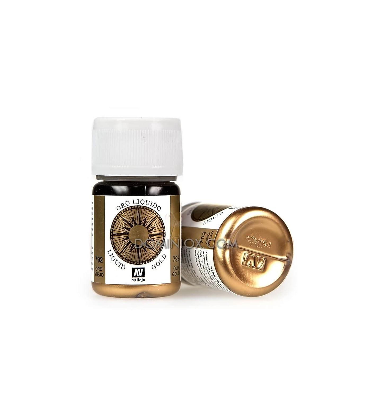 AV Vallejo Model color–Old Gold (Metals 35ml) VJ70792