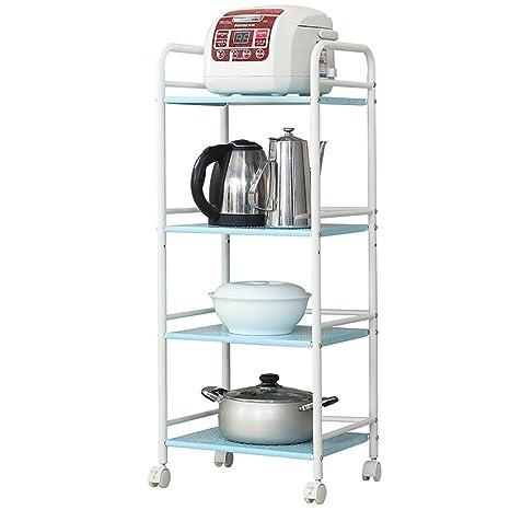91f7101d78 CFstc Carrello da immagazzinaggio per cucina All Scopo Scaffale Carrozzeria  mobile a 4 ruote per mobili