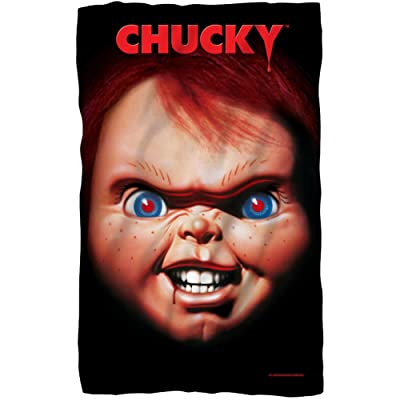 "Universal Studios Child's Play Chucky Poster 36"" x 58"" Fleece Blanket Standard: Home & Kitchen"