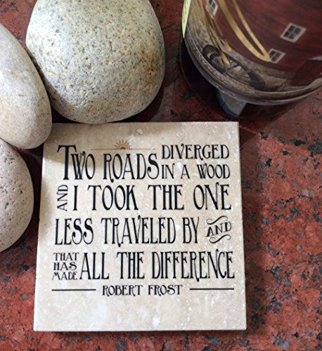 Robert Frost Road Less Traveled Coaster