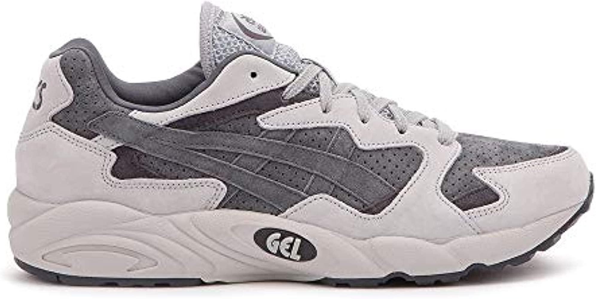 zapatillas asics hombres grises