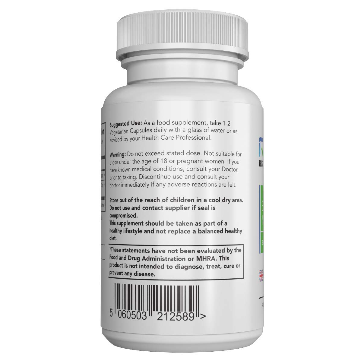 Bacopa Monnieri Cápsulas - 500 mg | Para Ayudar en el Aprendizaje y la Memoria | 120 Cápsulas Vegetarianas | SUMINISTRO DE HASTA 3 MESES | Fabricado en el ...