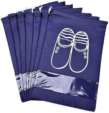 Portable Travel Shoe Drawstring Bag Pouch Storage dust-proof Bags Organizer USA