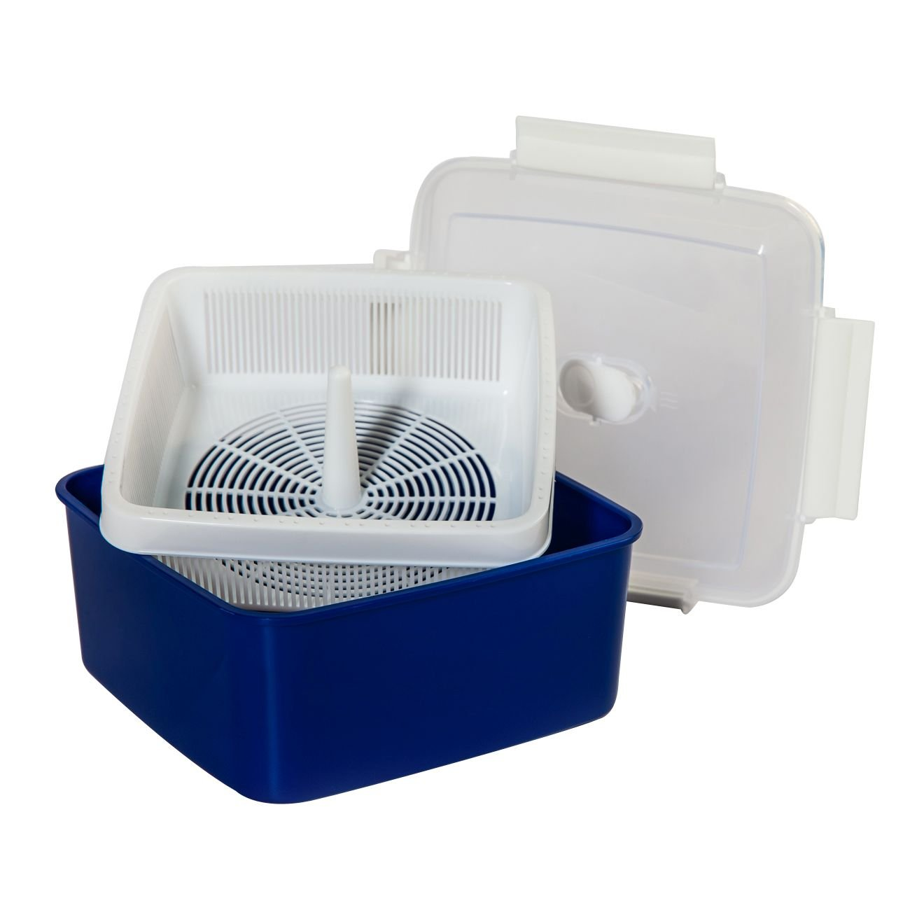 Microondas Cocina al vapor verduras 2, 47 L, con ventilación ...