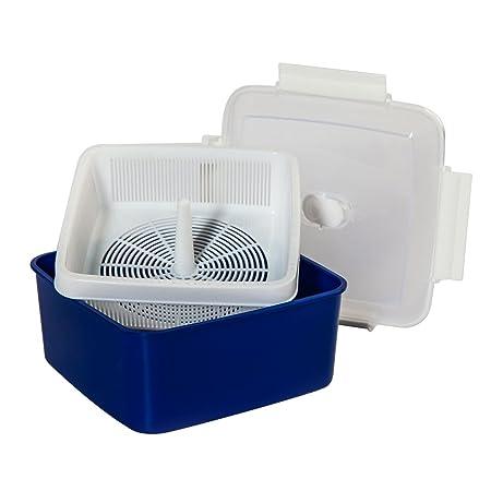 Microondas Cocina al vapor verduras 2,47 L, con ventilación ...
