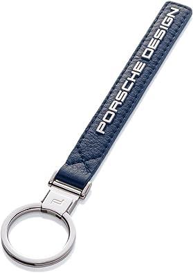 Porsche Design Leather Keychain (Blue) Amazon.ca Shoes