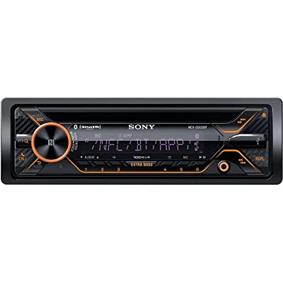 Sony MEXGS820BT GS, 160W Hi-Power, Variable Color, Dual BT, NFC, Songpal, Sxm, Dual USB, Dual AUX, 3 Pre 5V, EQ10, Extrabass, Aoa 2.0 [5Bkhe1507596]
