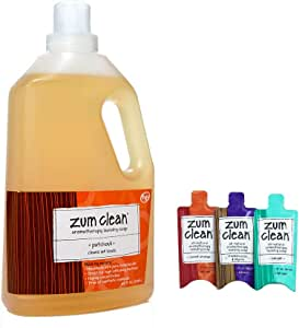 Amazon Com Zum Clean Laundry Soap Patchouli 64 Fl Oz