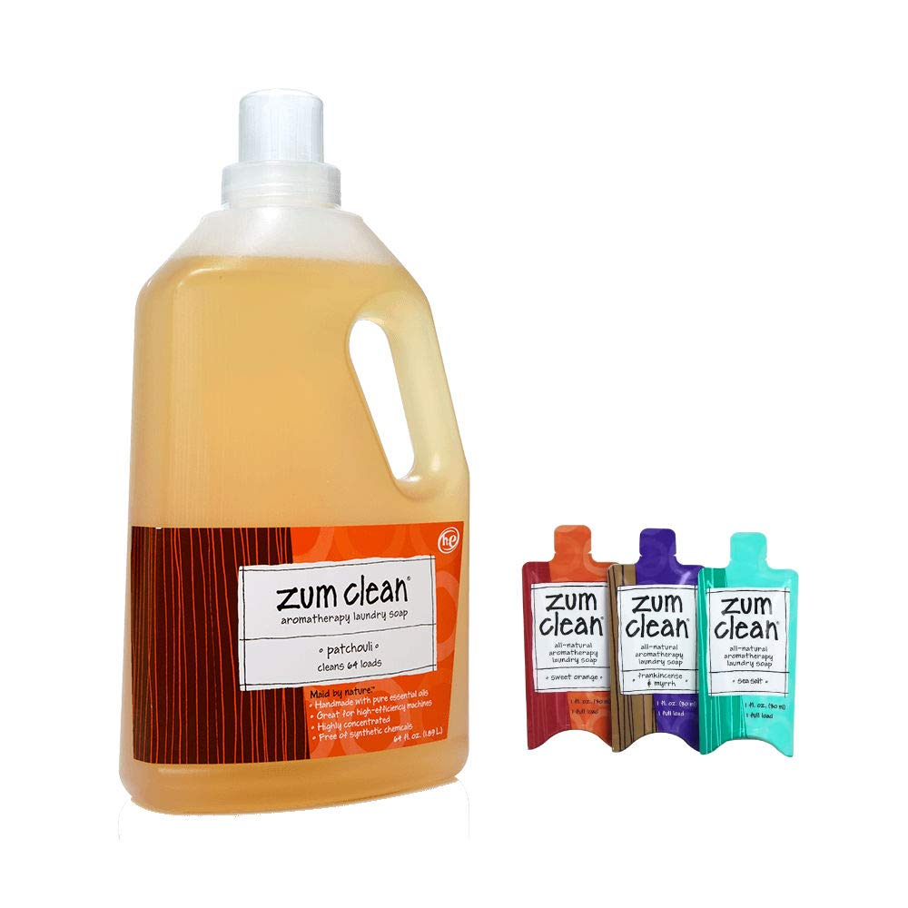 Amazon Com Zum Clean Laundry Soap Eucalyptus Citrus 64