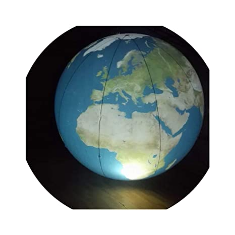 Amazon.com: Globe - Globo hinchable de la Tierra Grande ...