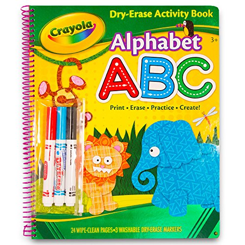 Bendon Publishing Crayola Spiral Wipe Off Book - Alphabet ABC