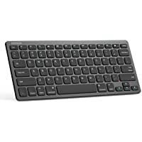 Arteck Ultra-Slim Bluetooth Keyboard Compatible with iPad 10.2-inch/iPad Air/iPad 9.7-inch/iPad Pro/iPad Mini, iPhone…