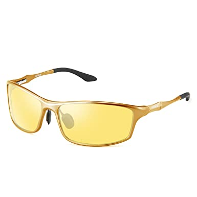 550c2350741 Image Unavailable. Image not available for. Color  SOXICK Night Vision  Glasses for Driving