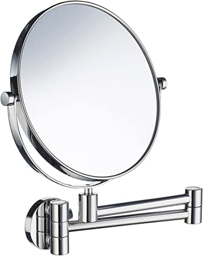 SMEDBO Shaving and Make-Up Mirror in Polished Chrome Finish
