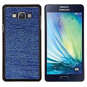 Stuss Case / Funda Carcasa protectora - Tela Moda Modelo azul - Samsung Galaxy A7 ( A7000 )