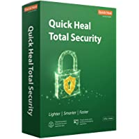 Quick Heal Total Security Latest Version - 2 PCs, 3 Years (DVD)