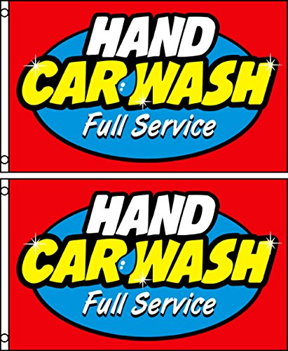 hand car wash flag - 5