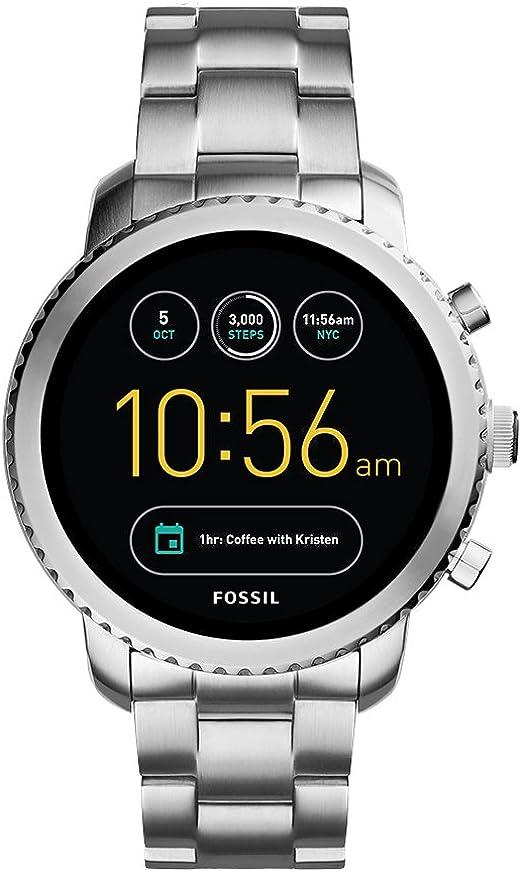 Amazon.com: Fossil Q Gen 3 Explorist Reloj inteligente de ...
