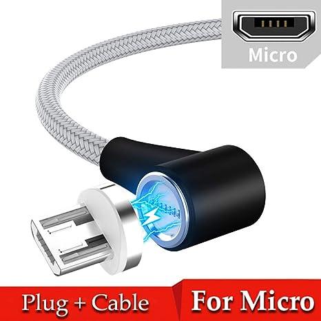TOUSHI Cable Cargador Cable magnético Micro USB Tipo C 8 ...