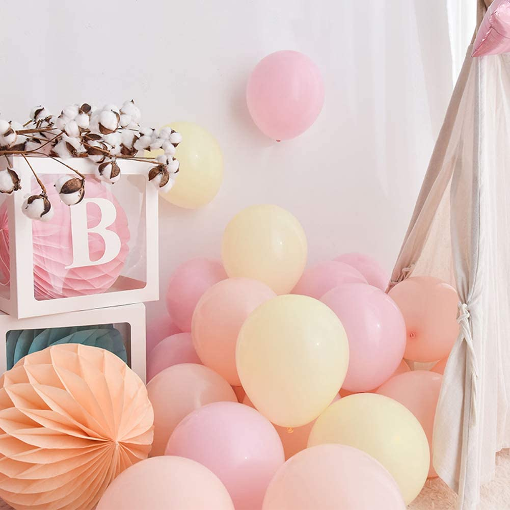 MINT GREEN Assorted Macaron Candy Colored Latex Party Balloons for Wedding Birthday Baby Shower Party Decor Supplies Arch Balloon Tower Balloon Garland Pastel Balloons 100PCS 10 Inch Pastel Color Balloons