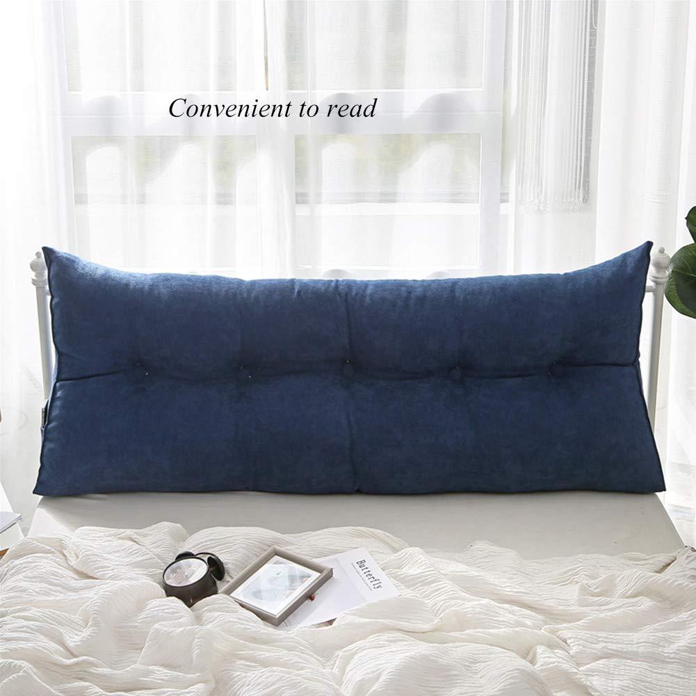 Amazon.com: Cojín de cuña triangular tapizado, cojín de ...