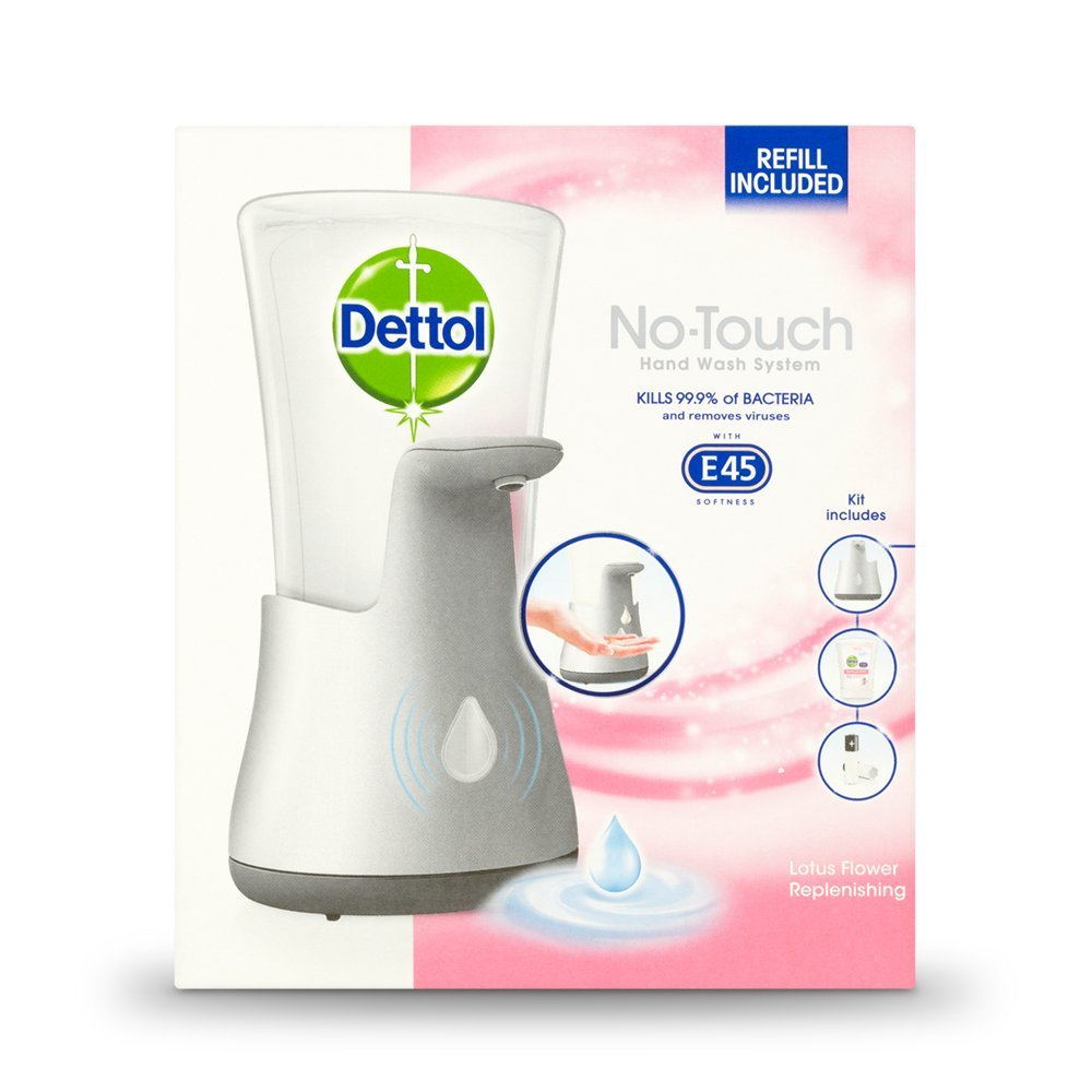 Dettol No Touch Hand Wash System Lotus Flower 250 Ml 5011417563977