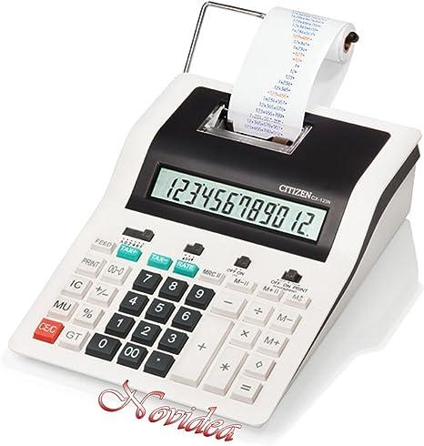 Calculadora Citizen CX-123 N scrivente Oficina de mesa Impresión a ...