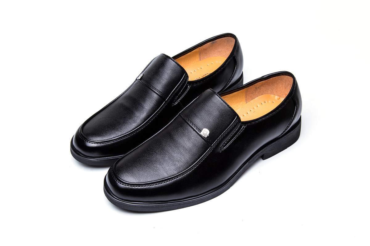 LOVDRAM Stiefel Männer Männer Casual Schuhe Aus Weichem Leder Füße Herrenmode Hochzeit Herrenschuhe