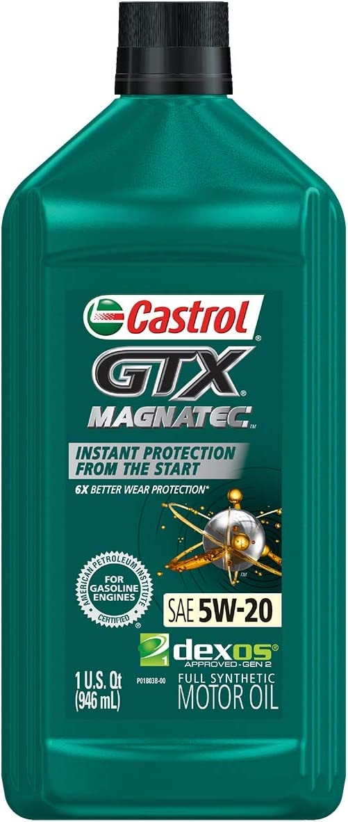 Castrol GTX MagnaTec绿色5W-20电机油