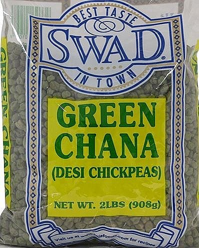 Green Chana (Desi Dry Chickpeas) - 2 Pounds