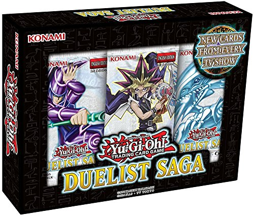 Yu-Gi-Oh Cards - Duelist Saga Pack (3 Packs