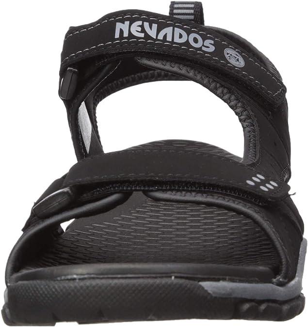 schwarz anthrazit Nevados Herren River Sandale