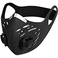Bicycle riding,Outdoor sport face mask, Carbon Dust Mask, Riding Mask Bicycle Motorcycle Racing Ski Half Face Maskكمامه…