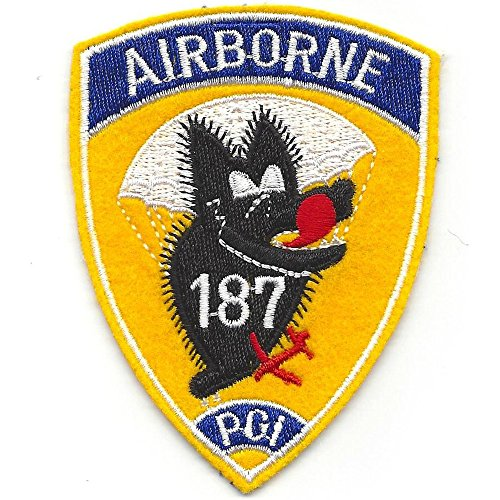 187th Airborne Infantry Regiment Patch - Wolf (187th Airborne Patch)